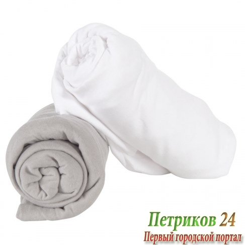 Простыня Candide Morpho One Fitted sheet 50x90 cm Белая 694360