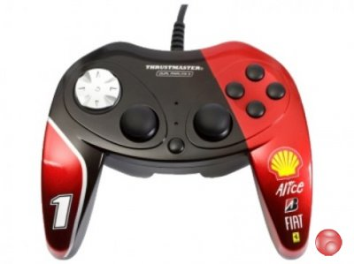 Геймпад проводной Thrustmaster F1 Dual Analog Ferrari F60 (2960733) Exclusive Edition